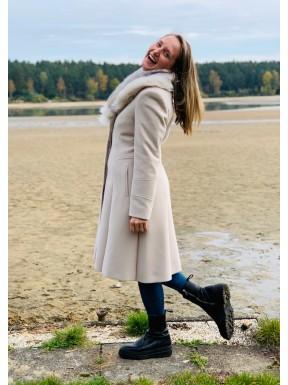 Zimní luxusní kabát